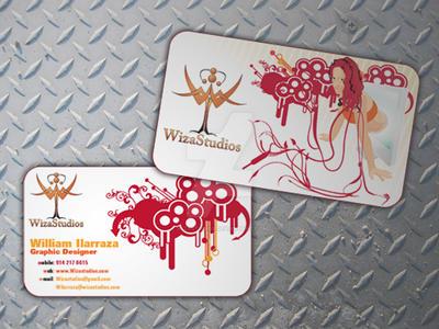 Wizastudios Business Cards by WizaStudios