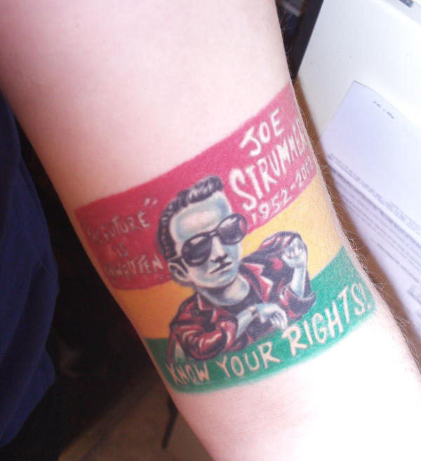 Joe strummer tattoo by amandaskag on deviantart for Tattoo shops terre haute indiana