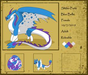 HTTYDG Blue Bella Adult Ref