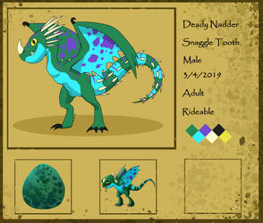 HTTYDG Snaggle Tooth Adult Ref