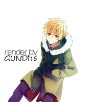 Yukine / Render 3 by Gundi16