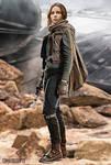 Star Wars - Jyn Erso - Rogue One - Felicity Jones by wolverine103197