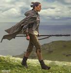 Rey - Star Wars - The Last Jedi - Daisy Ridley 1 by wolverine103197
