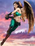Alexandra Daddario - Hawkgirl - DC by wolverine103197