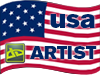 Usa Artist FLAG/STAMP by cyberz7