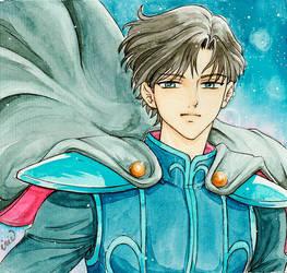 Day 24 - Prince Endymion - Sailor Moon by iriemanga