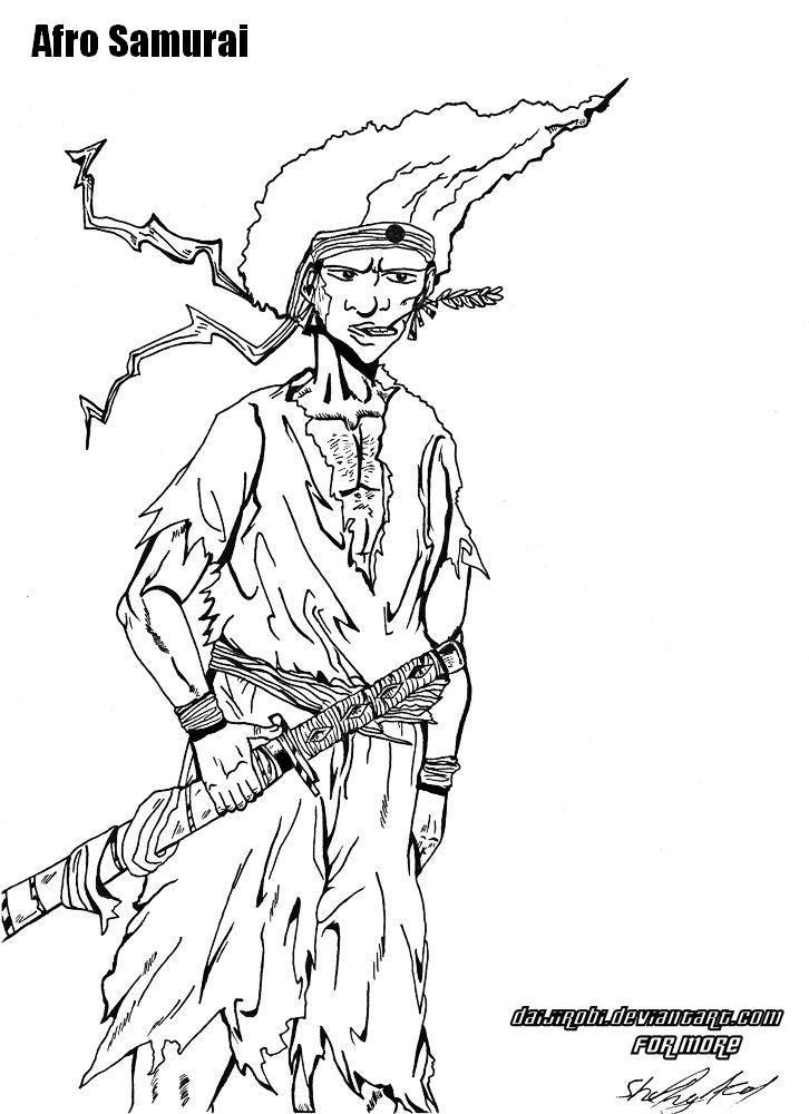 Afro Samurai young