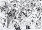 Goku vs Freeza Majin Cell