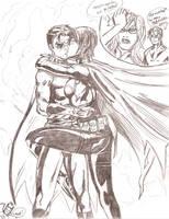 Batgirl and Robin love by einsam
