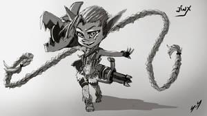 Jinx (Yordle) - League of Legends