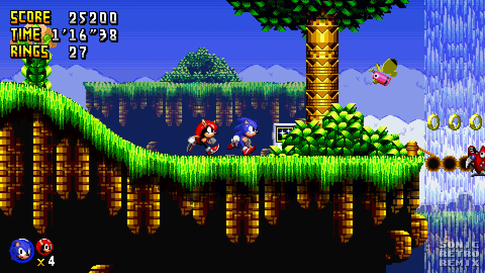Sonic Retro Remix - Final Fall Zone Mockup by PolarStar64 on DeviantArt