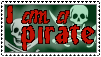 I am a Pirate by Roojii