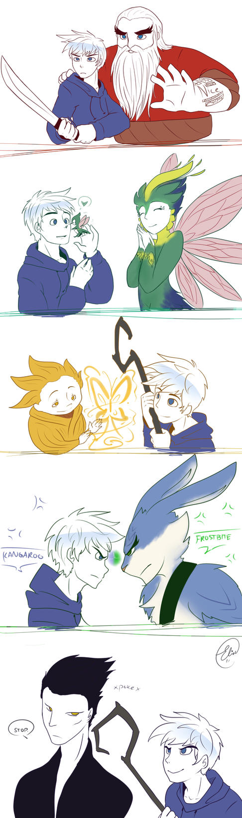Rotg - Jack's free time by ChibiGuardianAngel