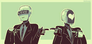 Palette Challenge: Daft Punk