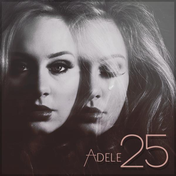 25 Adele: 25 Adele Album Cover