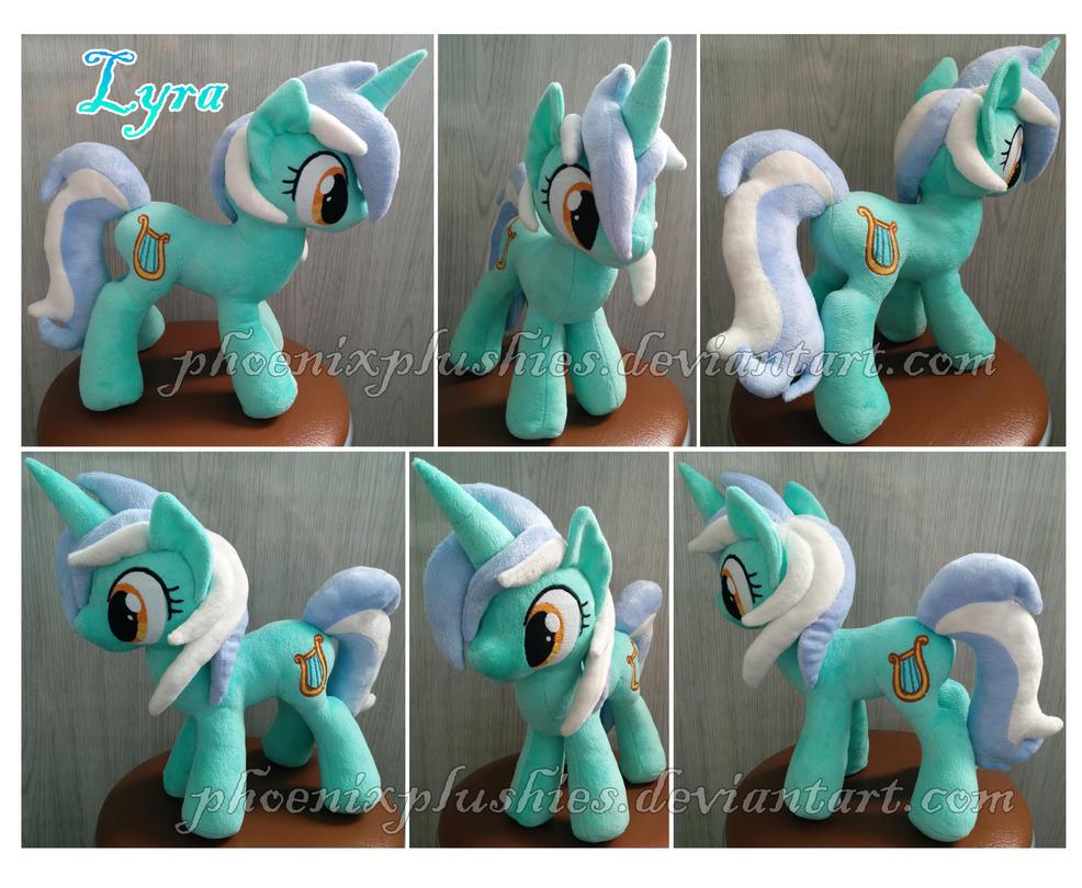 Lyra plush by PhoenixPlushies
