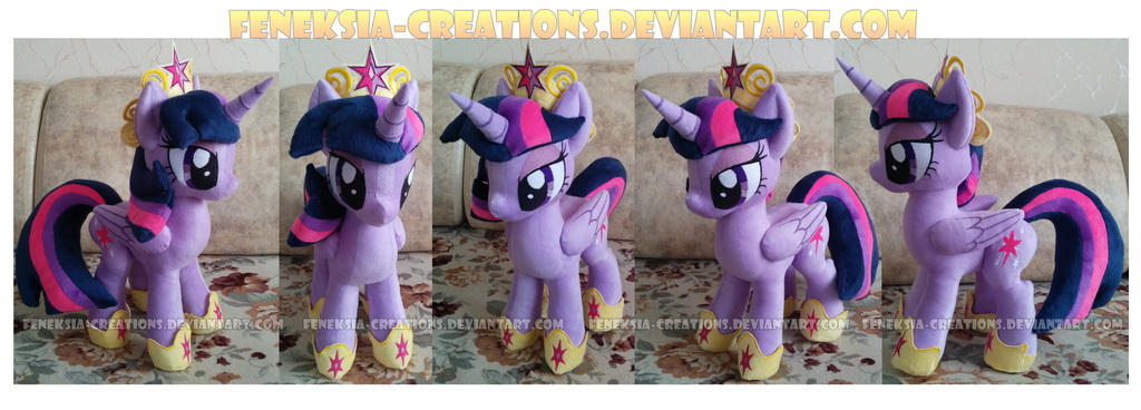 Twilight Sparkle with accessories by Feneksia-Creations