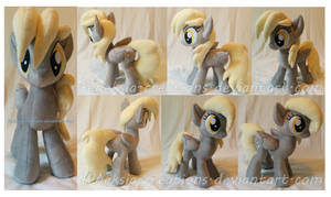 Derpy Hooves plushie by FeneksiA