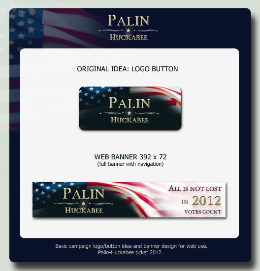 Palin-Huckabee 2012 by helekri