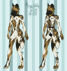 African Wild Dog adopt open~ by hvngr