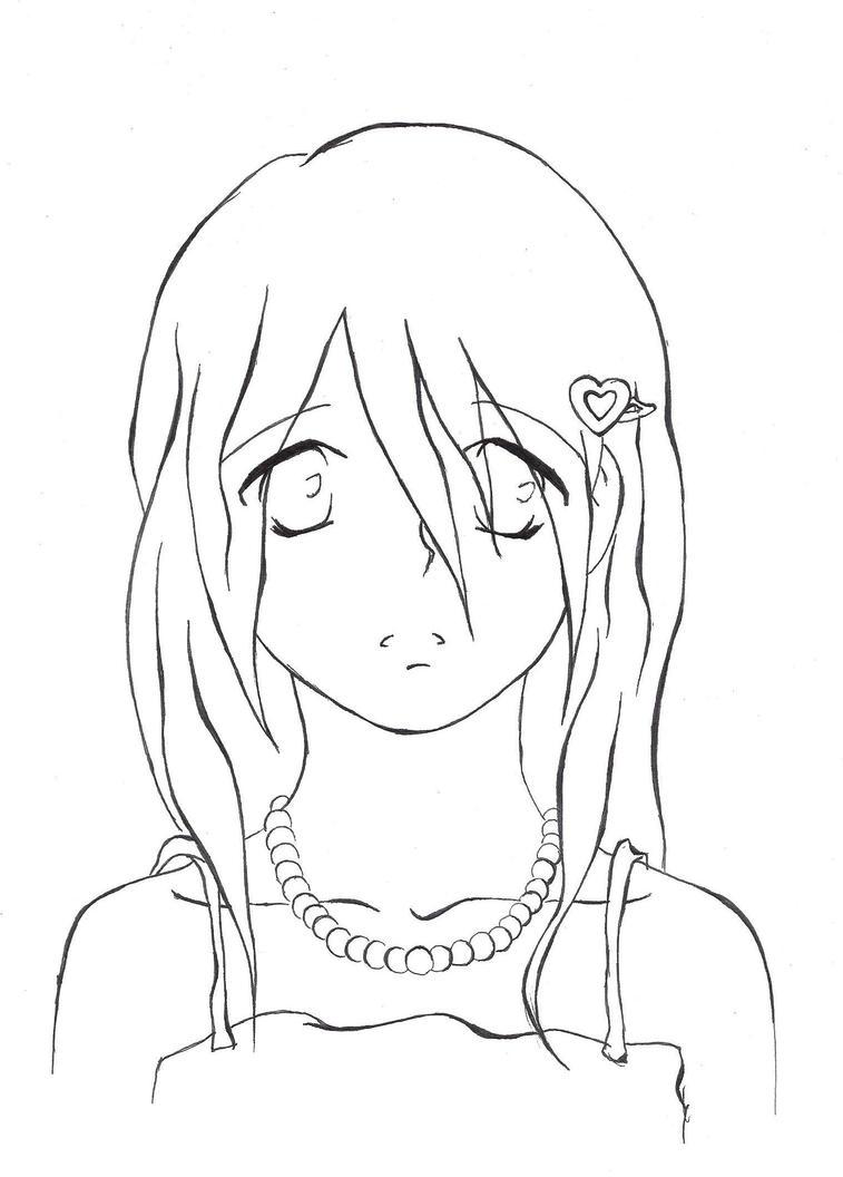 Sad little Girl by darklycutegirl on DeviantArt
