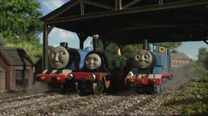 Gordon, Emily and Thomas