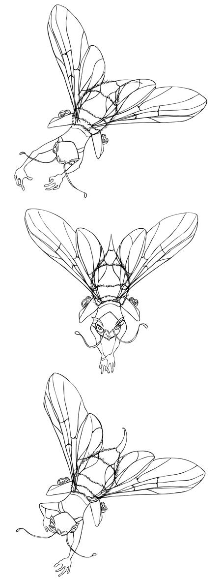 Bee boys by yuyanda