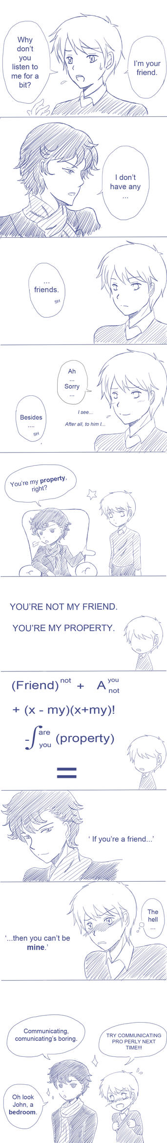 Not a friend by Voidance-kun