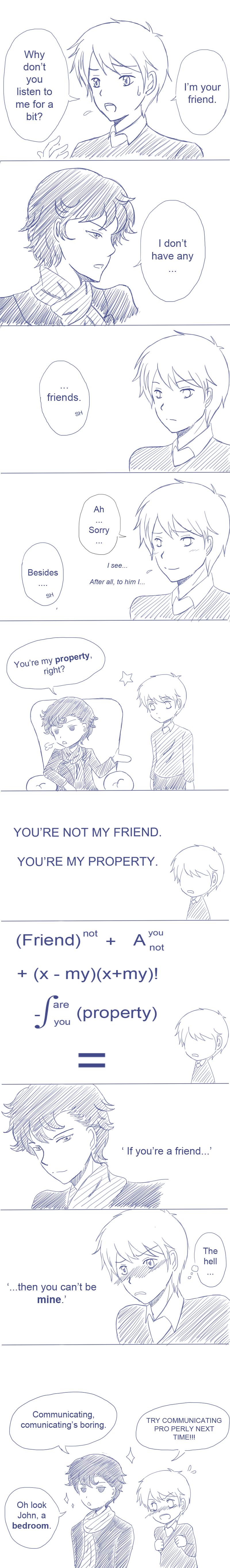 Not a friend by Voidance-kun