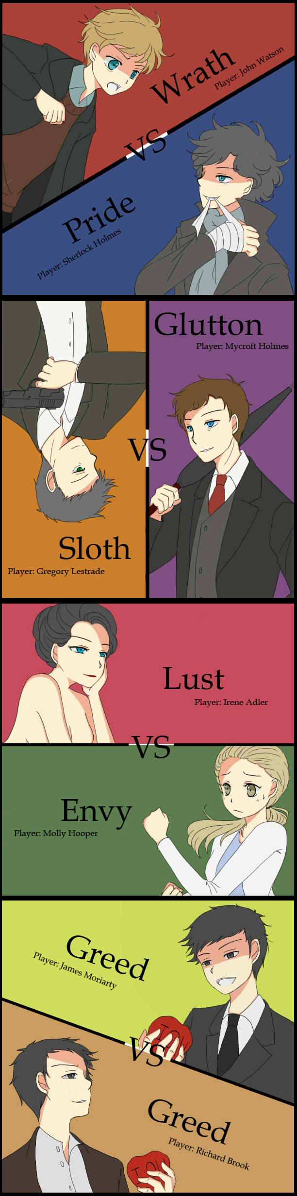 Seven sins by Voidance-kun