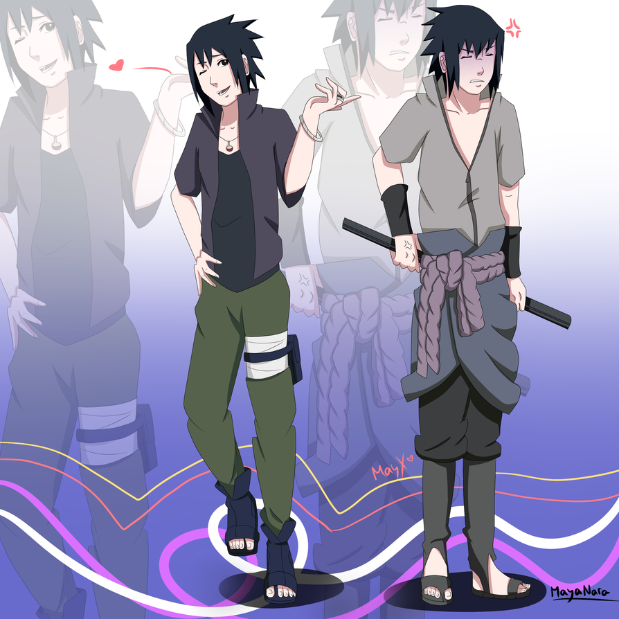 Sasuke meet Sasuke. by MayaNara