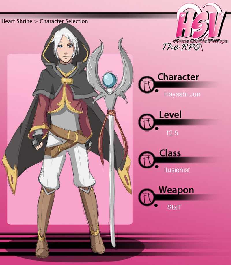 HSV: Jun the Illusionist. RPG. by MayaNara