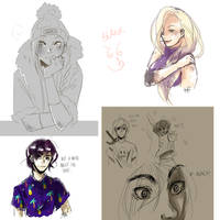 Tumblr doodles V by MayaNara