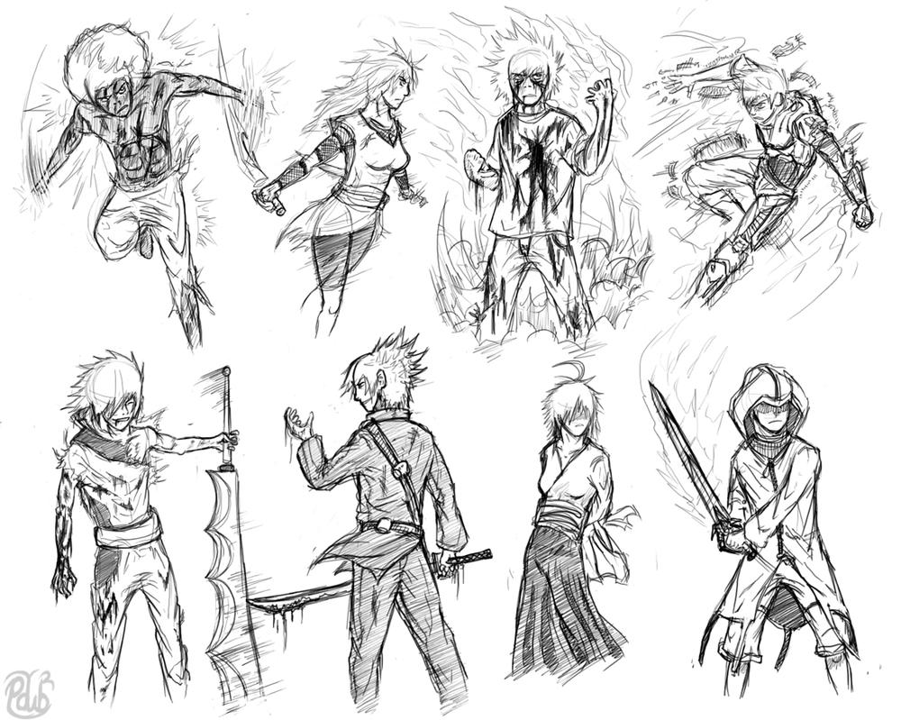 The gallery for --> Deviantart Character Sketches