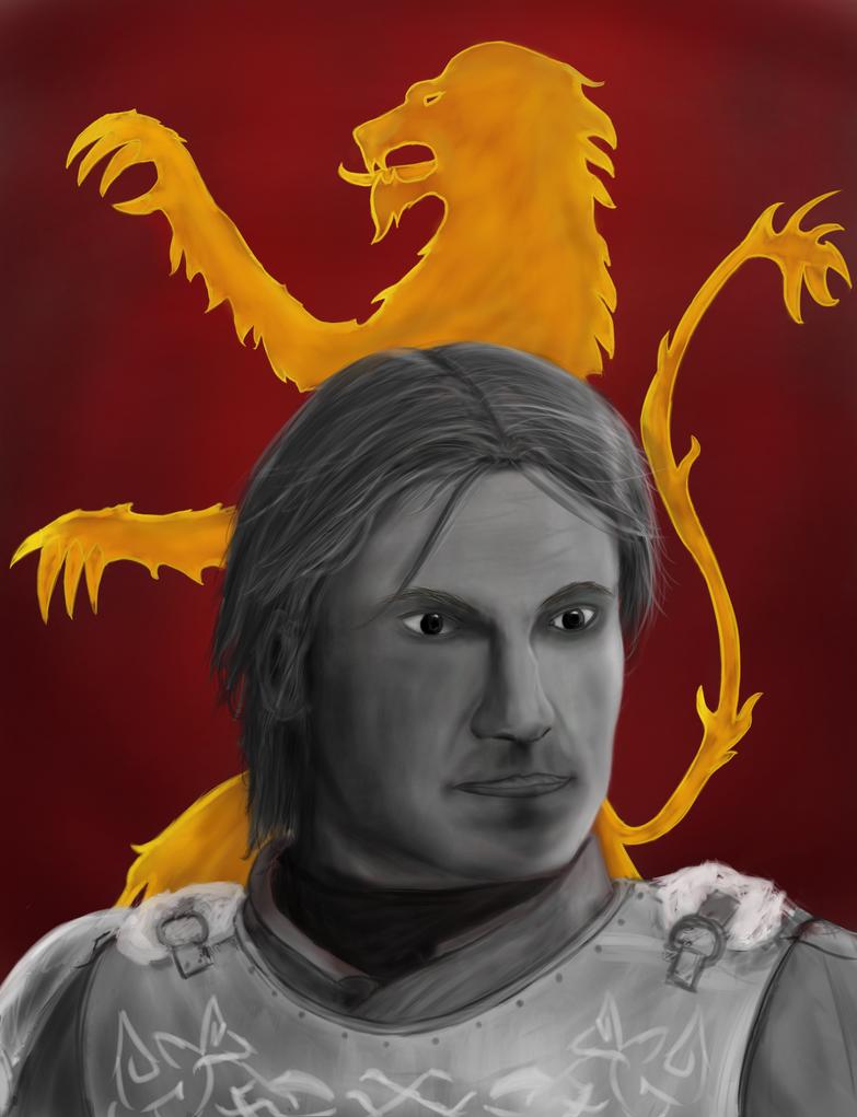 Portrait practice- Jaime Lannister by Aldenwar