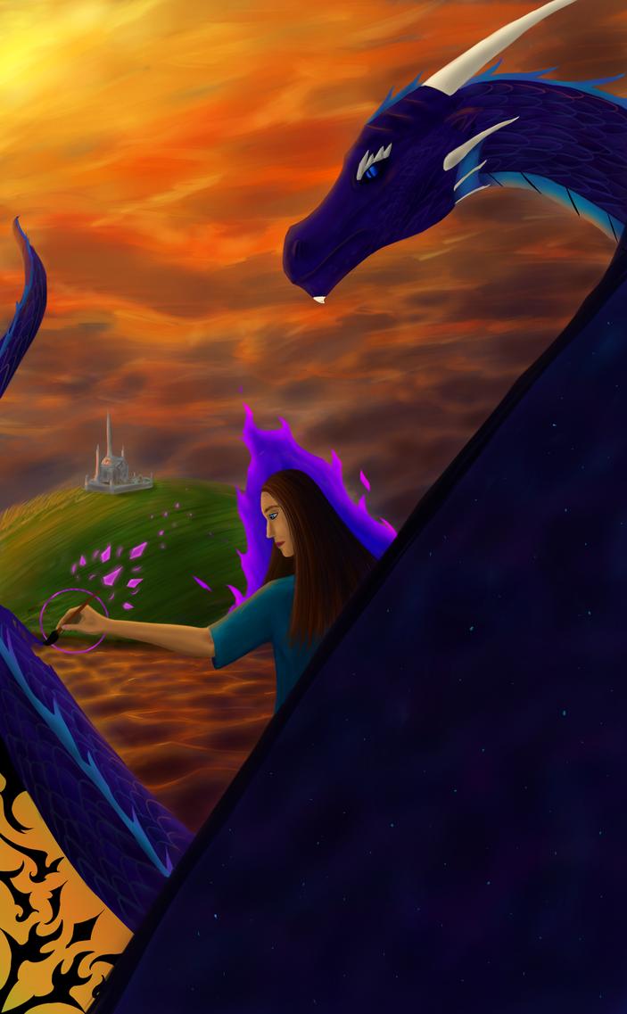 Tarot- the Dragon by Aldenwar