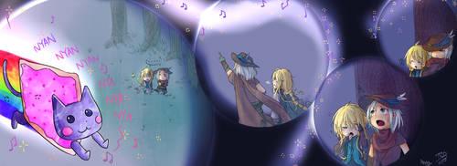 Nyan Nya Nya by Angymoo