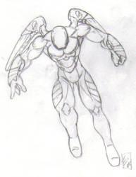 Mech Suit Sketch by martfam816