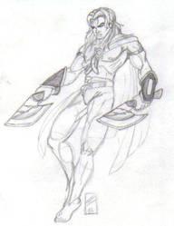 Axe_Ranger by martfam816