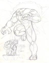 TREX vs Chasis by martfam816