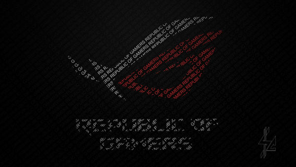 asus republic of gamers wallpaper   rog   by visionconcept dc3a6u0