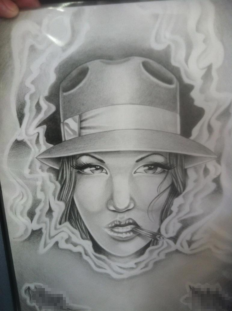 Art Lowrider Drawings Lowrider Girls Drawings