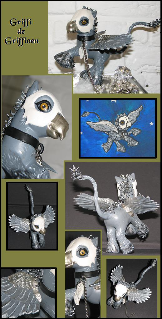 Griffy the Griffin by customlpvalley