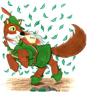 Disney's Robin Hood by customlpvalley