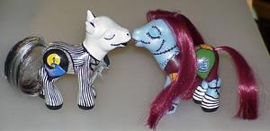 Custom Kissing Jack and Sally