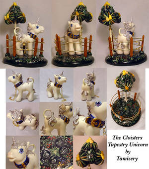 Real Custom Tapestry Unicorn
