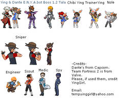 TGTN and TF2 Trainer Sprites