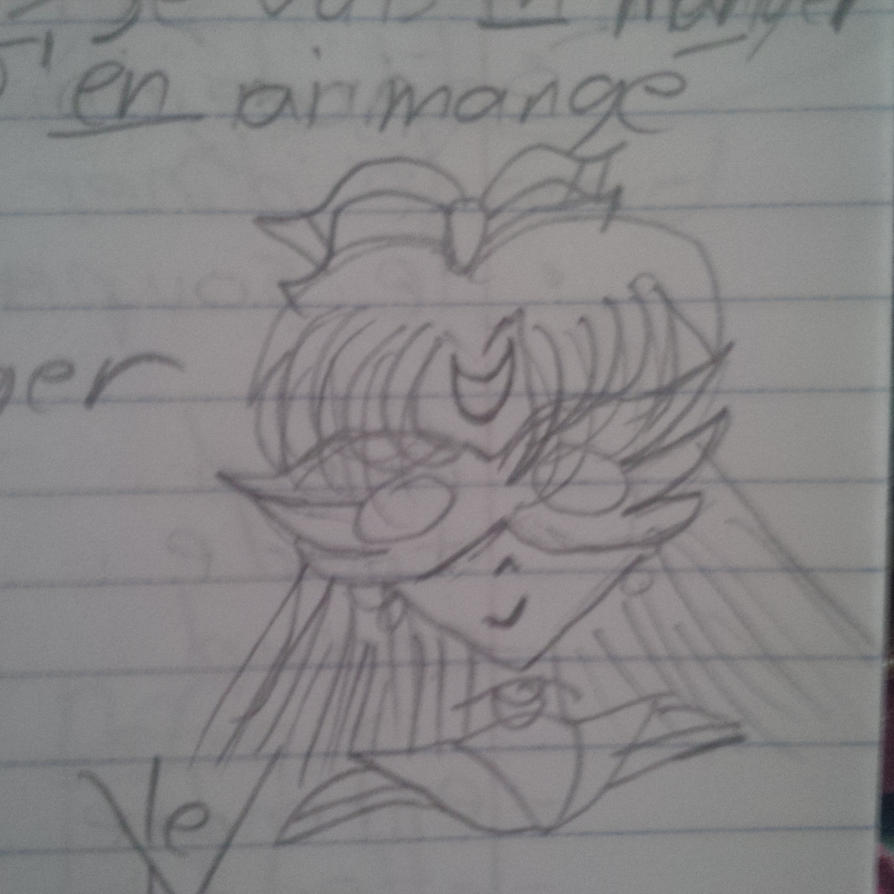 Notes: Sailor V by ThereGoesTheNGHBHD