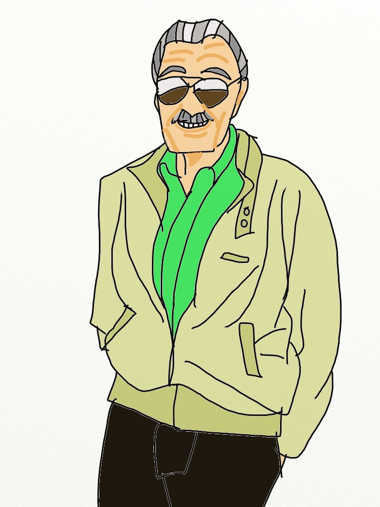 Stan Lee by ThereGoesTheNGHBHD