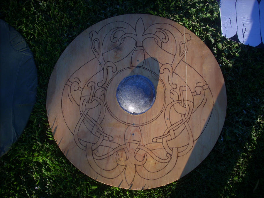 Viking Shield Wallpaper